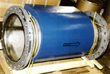 Photo of a 20&qout; LKC unit ready to be installed in a steel mill.